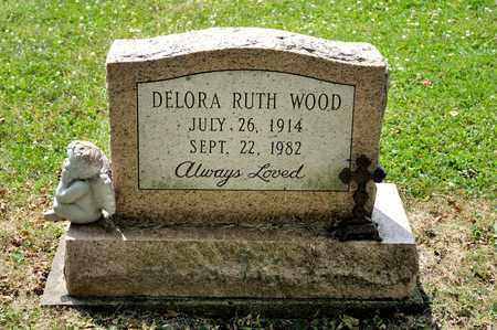 WOOD, DELORA RUTH - Richland County, Ohio | DELORA RUTH WOOD - Ohio Gravestone Photos