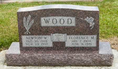 WOOD, NEWTON W - Richland County, Ohio | NEWTON W WOOD - Ohio Gravestone Photos