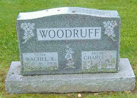 WOODRUFF, RACHEL E. - Richland County, Ohio | RACHEL E. WOODRUFF - Ohio Gravestone Photos