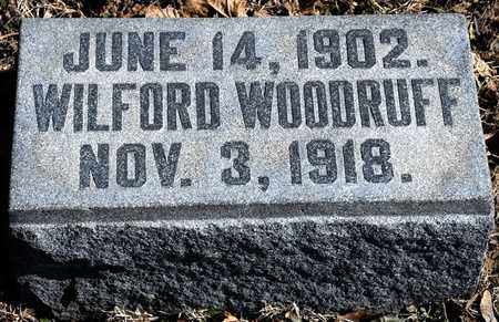 WOODRUFF, WILFORD - Richland County, Ohio | WILFORD WOODRUFF - Ohio Gravestone Photos
