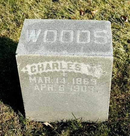 WOODS, CHARLES W - Richland County, Ohio | CHARLES W WOODS - Ohio Gravestone Photos