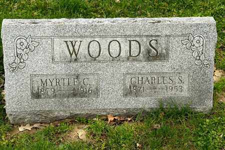 WOODS, CHARLES S - Richland County, Ohio | CHARLES S WOODS - Ohio Gravestone Photos