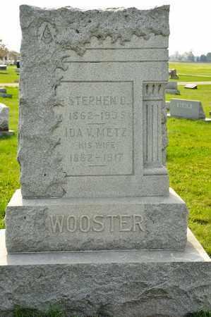 WOOSTER, IDA V - Richland County, Ohio | IDA V WOOSTER - Ohio Gravestone Photos