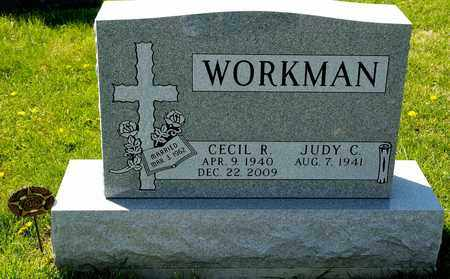WORKMAN, CECIL R - Richland County, Ohio | CECIL R WORKMAN - Ohio Gravestone Photos