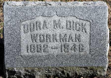 WORKMAN, DORA M - Richland County, Ohio | DORA M WORKMAN - Ohio Gravestone Photos