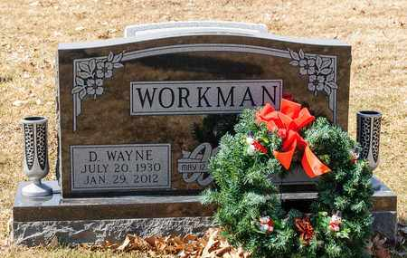 WORKMAN, D WAYNE - Richland County, Ohio   D WAYNE WORKMAN - Ohio Gravestone Photos