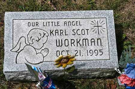WORKMAN, KARL SCOT - Richland County, Ohio | KARL SCOT WORKMAN - Ohio Gravestone Photos
