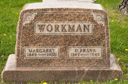 WORKMAN, MARGARET - Richland County, Ohio | MARGARET WORKMAN - Ohio Gravestone Photos