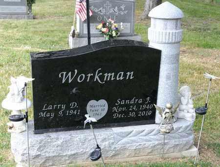 WORKMAN, SANDRA J - Richland County, Ohio   SANDRA J WORKMAN - Ohio Gravestone Photos