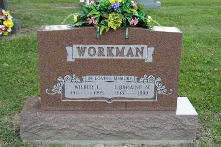 WORKMAN, WILBER L - Richland County, Ohio | WILBER L WORKMAN - Ohio Gravestone Photos