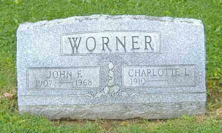 SNAVELY WORNER, CHARLOTTE L. - Richland County, Ohio   CHARLOTTE L. SNAVELY WORNER - Ohio Gravestone Photos
