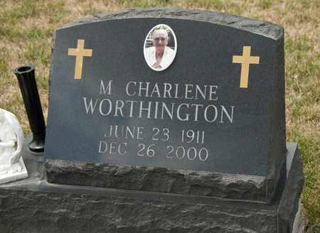 WORTHINGTON, M CHARLENE - Richland County, Ohio | M CHARLENE WORTHINGTON - Ohio Gravestone Photos