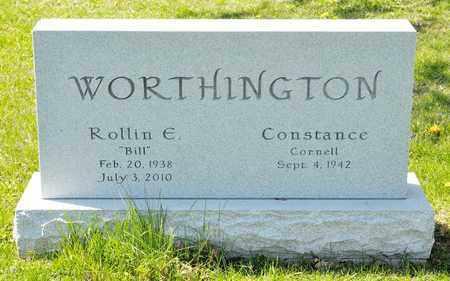 "WORTHINGTON, ROLLIN E ""BILL"" - Richland County, Ohio | ROLLIN E ""BILL"" WORTHINGTON - Ohio Gravestone Photos"