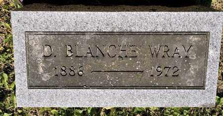 WRAY, D BLANCHE - Richland County, Ohio | D BLANCHE WRAY - Ohio Gravestone Photos