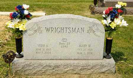 WRIGHTSMAN, MARY M - Richland County, Ohio | MARY M WRIGHTSMAN - Ohio Gravestone Photos