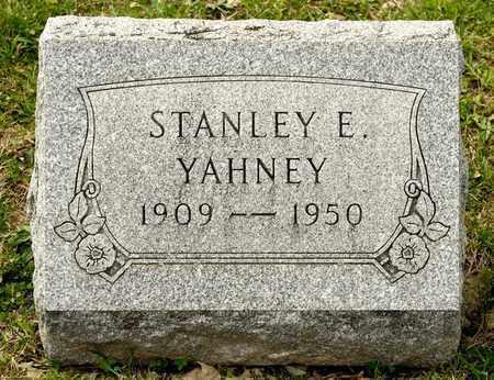 YAHNEY, STANLEY E - Richland County, Ohio   STANLEY E YAHNEY - Ohio Gravestone Photos