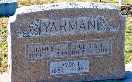 YARMAN, LUELLA - Richland County, Ohio | LUELLA YARMAN - Ohio Gravestone Photos