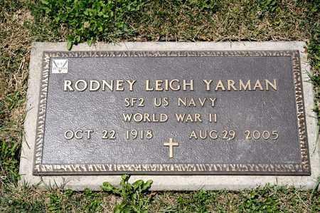 YARMAN, RODNEY LEIGH - Richland County, Ohio | RODNEY LEIGH YARMAN - Ohio Gravestone Photos