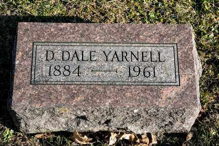 YARNELL, D DALE - Richland County, Ohio | D DALE YARNELL - Ohio Gravestone Photos