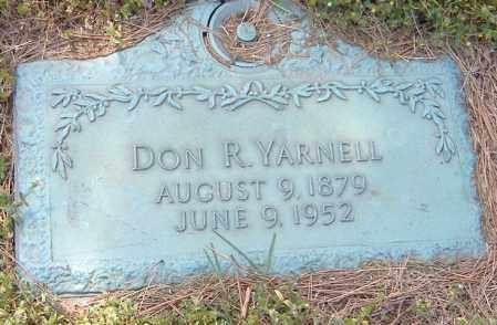 YARNELL, DON R. - Richland County, Ohio   DON R. YARNELL - Ohio Gravestone Photos