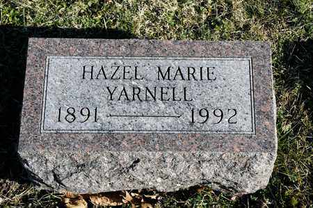 YARNELL, HAZEL MARIE - Richland County, Ohio | HAZEL MARIE YARNELL - Ohio Gravestone Photos