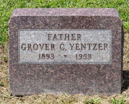YENTZER, GROVER C - Richland County, Ohio   GROVER C YENTZER - Ohio Gravestone Photos