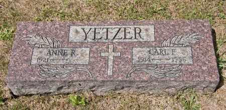 YETZER, CARL F - Richland County, Ohio | CARL F YETZER - Ohio Gravestone Photos