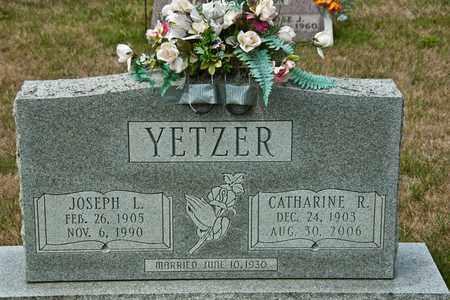 YETZER, CATHARINE R - Richland County, Ohio | CATHARINE R YETZER - Ohio Gravestone Photos