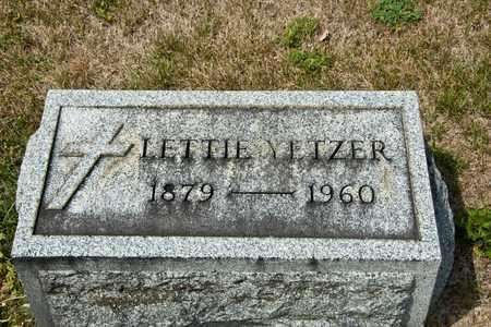 YETZER, LETTIE - Richland County, Ohio   LETTIE YETZER - Ohio Gravestone Photos