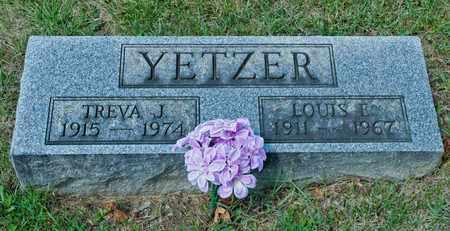 YETZER, TREVA J - Richland County, Ohio | TREVA J YETZER - Ohio Gravestone Photos