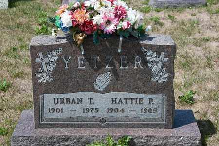 YETZER, URBAN T - Richland County, Ohio | URBAN T YETZER - Ohio Gravestone Photos