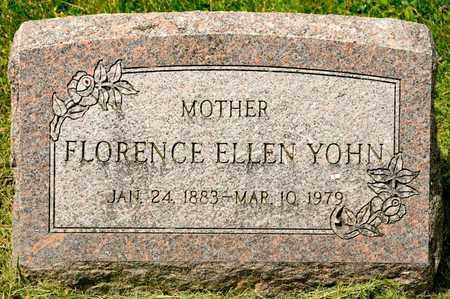 YOHN, FLORENCE ELLEN - Richland County, Ohio | FLORENCE ELLEN YOHN - Ohio Gravestone Photos