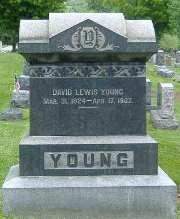 YOUNG, DAVID LEWIS - Richland County, Ohio | DAVID LEWIS YOUNG - Ohio Gravestone Photos