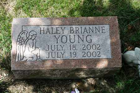 YOUNG, HALEY BRIANNE - Richland County, Ohio | HALEY BRIANNE YOUNG - Ohio Gravestone Photos