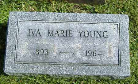 YOUNG, IVA MARIE - Richland County, Ohio | IVA MARIE YOUNG - Ohio Gravestone Photos
