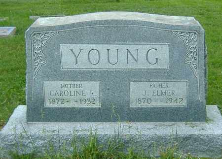 YOUNG, JAMES ELMER - Richland County, Ohio | JAMES ELMER YOUNG - Ohio Gravestone Photos