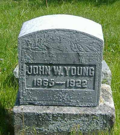 YOUNG, JOHN W. - Richland County, Ohio | JOHN W. YOUNG - Ohio Gravestone Photos