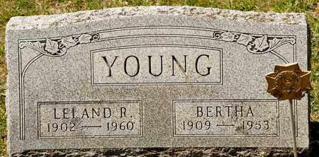 YOUNG, LELAND R - Richland County, Ohio | LELAND R YOUNG - Ohio Gravestone Photos