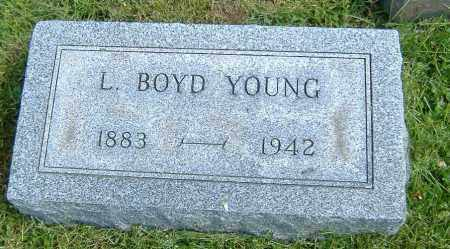 YOUNG, LEVI BOYD - Richland County, Ohio | LEVI BOYD YOUNG - Ohio Gravestone Photos