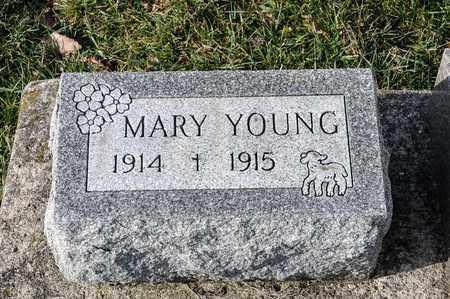 YOUNG, MARY - Richland County, Ohio | MARY YOUNG - Ohio Gravestone Photos