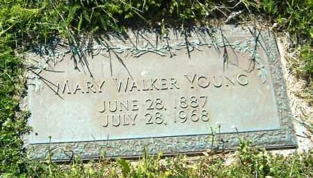 WALKER YOUNG, MARY - Richland County, Ohio | MARY WALKER YOUNG - Ohio Gravestone Photos