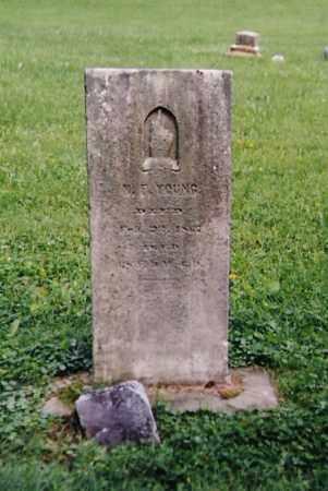 YOUNG, NICHOLAS FORD - Richland County, Ohio   NICHOLAS FORD YOUNG - Ohio Gravestone Photos