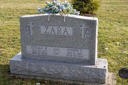ZARA, JOSEPH C - Richland County, Ohio | JOSEPH C ZARA - Ohio Gravestone Photos