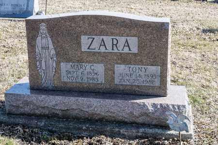 ZARA, MARY C - Richland County, Ohio | MARY C ZARA - Ohio Gravestone Photos