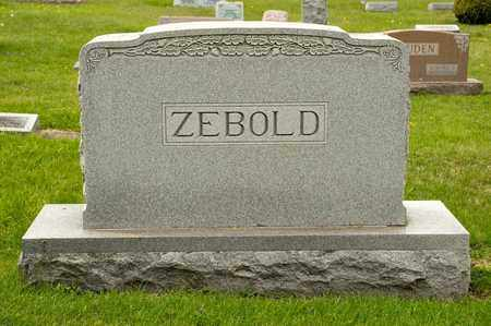 ZEBOLD, BEULAH I - Richland County, Ohio | BEULAH I ZEBOLD - Ohio Gravestone Photos