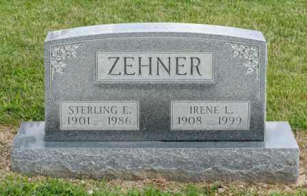 ZEHNER, IRENE L - Richland County, Ohio | IRENE L ZEHNER - Ohio Gravestone Photos