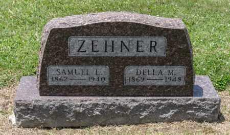 MORRIS ZEHNER, DELLA M - Richland County, Ohio | DELLA M MORRIS ZEHNER - Ohio Gravestone Photos