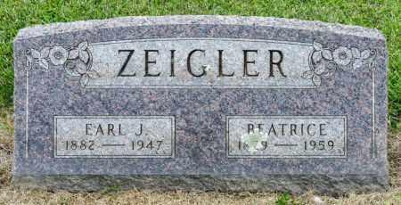 ZEIGLER, BEATRICE - Richland County, Ohio | BEATRICE ZEIGLER - Ohio Gravestone Photos