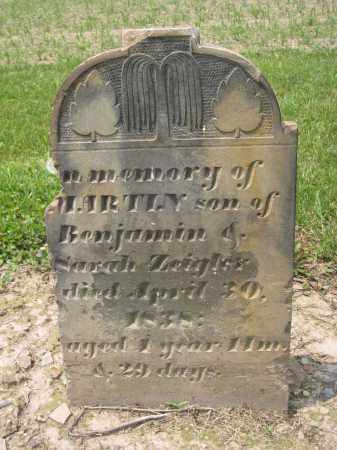 ZEIGLER, MARTIN - Richland County, Ohio | MARTIN ZEIGLER - Ohio Gravestone Photos