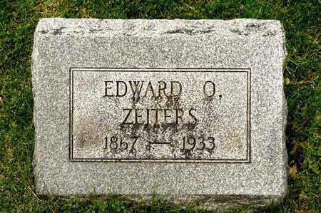 ZEITERS, EDWARD O - Richland County, Ohio | EDWARD O ZEITERS - Ohio Gravestone Photos